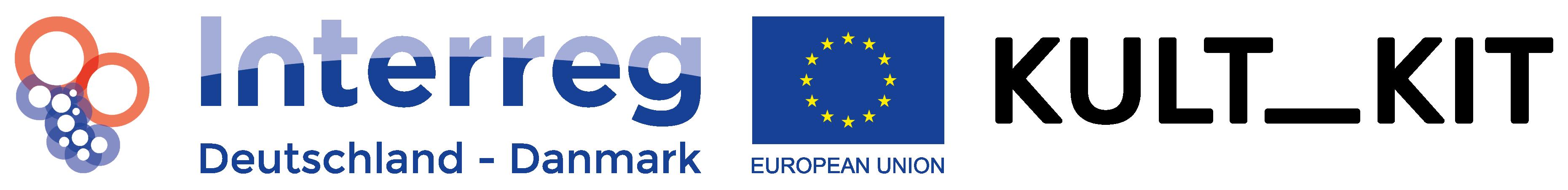 kultKIT und Interreg-Logo